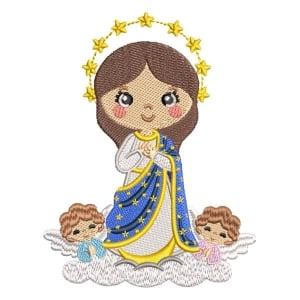 Our Lady of Conception Embroidery Design