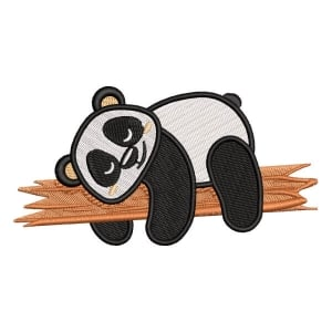 Panda Bear 1 Embroidery Design