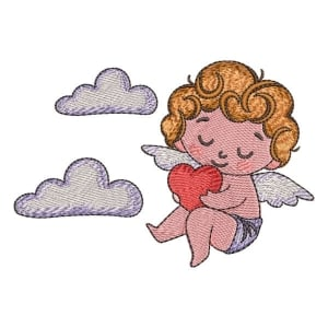 Little Angel 02 Embroidery Design