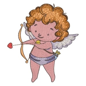 Little Angel 01 Embroidery Design