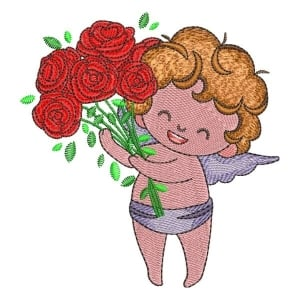 Little Angel 03 Embroidery Design