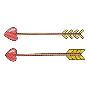 Arrows Embroidery Design