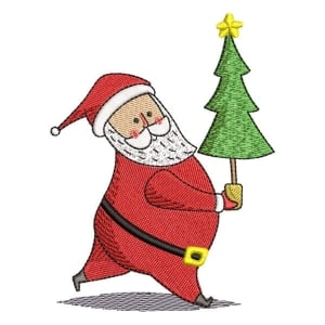 Santa Claus 02 Embroidery Design