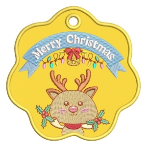 Christmas Ornaments 02 Embroidery Design