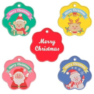 Christmas Ornaments Embroidery Design Pack