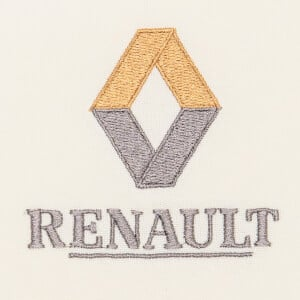 Matriz de bordado renault