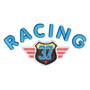 Matriz de bordado Racing 37