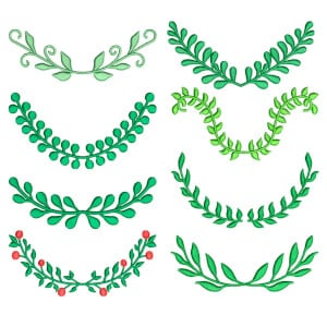 Frames Embroidery Design Pack