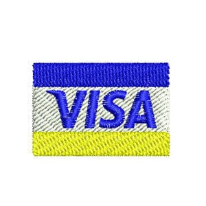 Matriz de bordado Visa