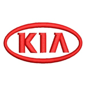 Matriz de bordado Kia Motors
