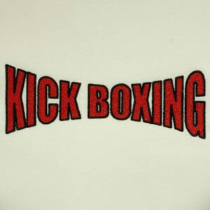 Matriz de bordado Kick Boxing 2