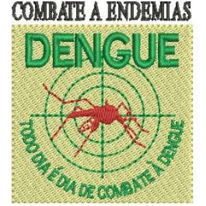 Matriz de bordado Combate a Dengue