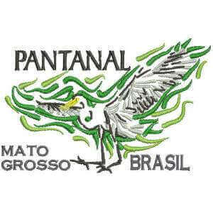 Matriz de bordado Pantanal - MT