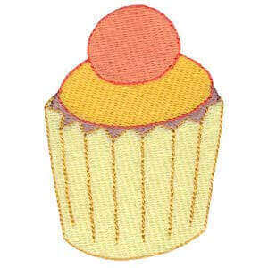 Matriz de bordado cupcake 4