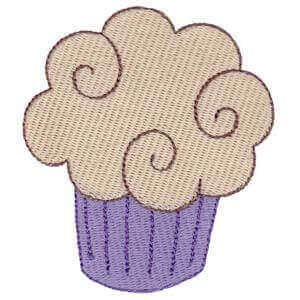 Matriz de bordado cupcake 7