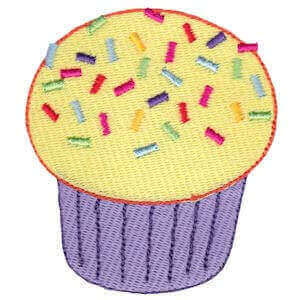 Matriz de bordado cupcake 15