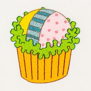 Matriz de bordado cupcake 21