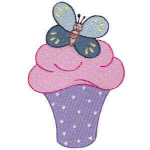 Matriz de bordado cupcake 37