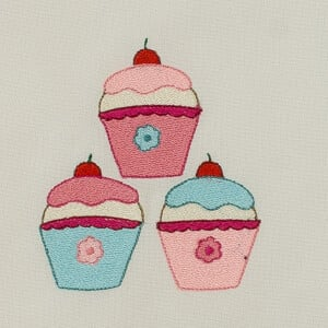 Matriz de bordado cupcake 41