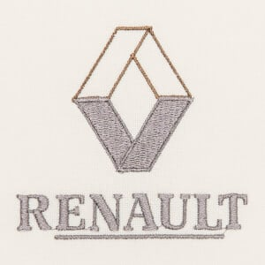 Matriz de bordado renault 3