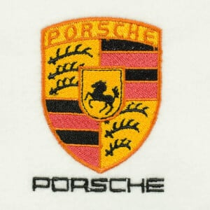 Matriz de bordado Porsche 2