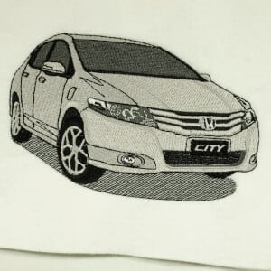 Matriz de bordado honda city