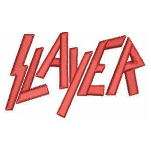 Matriz de bordado Slayer