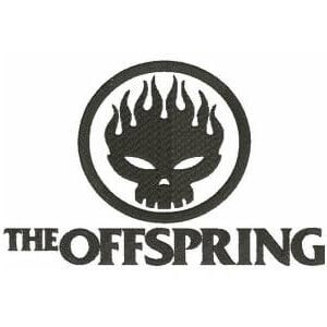 Matriz de bordado The Offspring M
