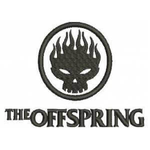 Matriz de bordado The Offspring