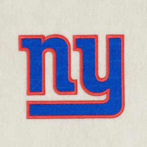 Matriz de bordado new york giants