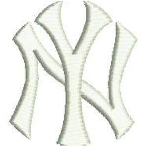 Matriz de bordado new york yankees