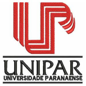 Matriz de bordado unipar