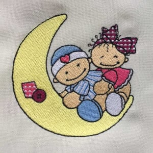 Children Embroidery Design