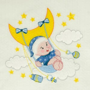 Baby Embroidery Design