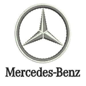 Matriz de bordado Mercedes-Benz