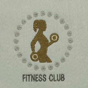 Matriz de bordado fitness 6