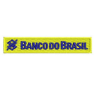 Matriz de bordado Banco do Brasil