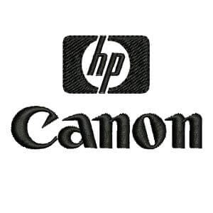 Matriz de bordado HP Cannon