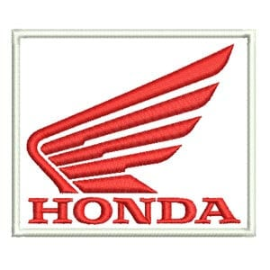 Matriz de bordado Honda