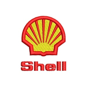 Matriz de bordado Shell