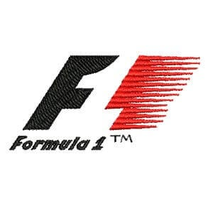 Matriz de bordado Formula 1