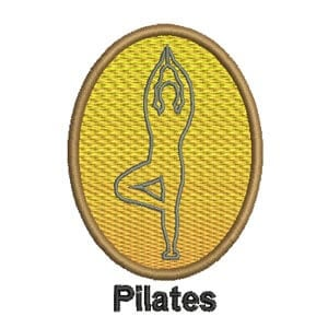 Matriz de bordado Pilates