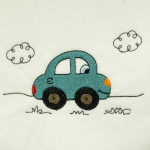 Toy car Embroidery Design