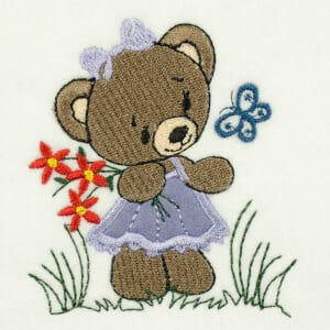Cute Bear Applique Designs For Embroidery Machines Embforlife