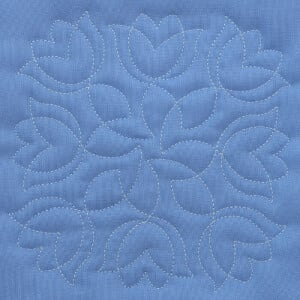 Matriz de bordado Quilting Floral 01