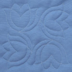 Matriz de bordado Quilting Floral 2