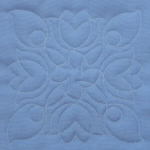 Matriz de bordado Quilting Floral 4