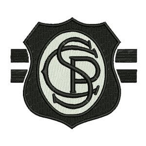 Matriz de bordado 4° Escudo do Corinthians
