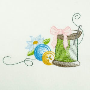 Crafty Embroidery Design