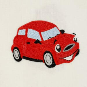 Car Toy Embroidery Design